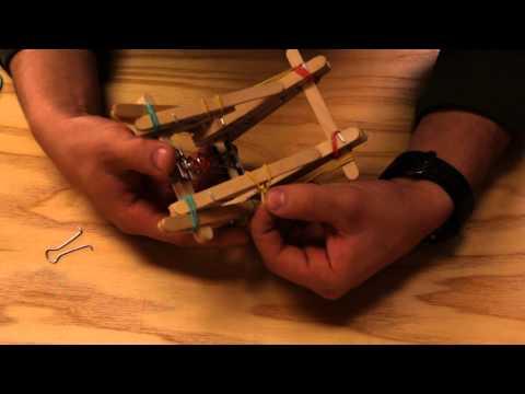 Mini Catapult : TUTORIAL