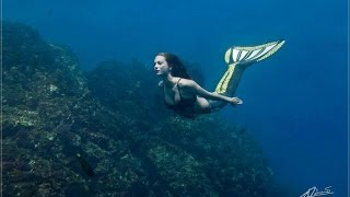 "Underwater photoshooting with Katrin Felton ""Mermaid Kat"""