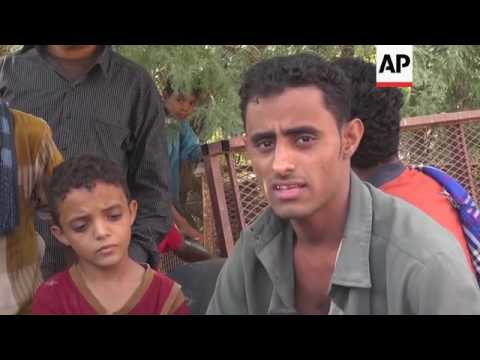 Civilian casualties in Yemen after airstrikes