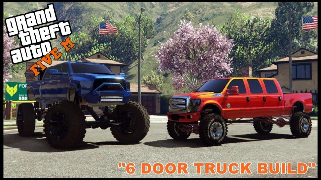 6 Door Truck >> Gta 5 Roleplay Building 6 Door Truck Ep 219 Civ Youtube
