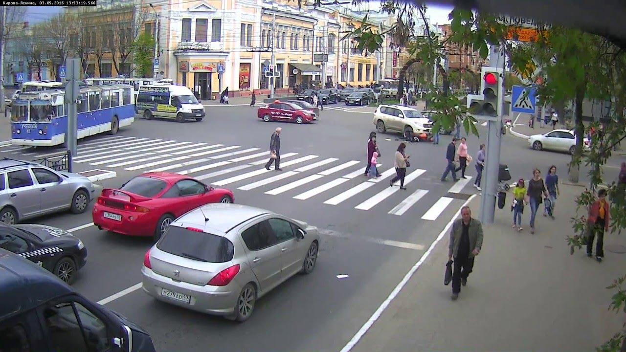 ДТП Калуга, Кирова-Ленина 03.05.16