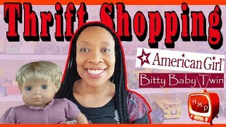 THRIFT SHOPPING - American Girl Bitty Twin, Bratz, Tons of Doll Shoes