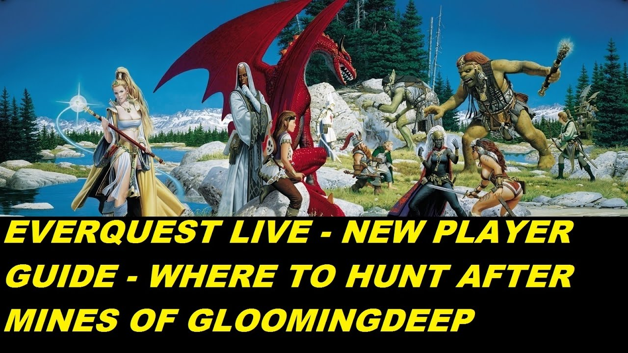 EVERQUEST GUIDE - Where to go after leaving The Mines Of Gloomingdeep  (1080p)