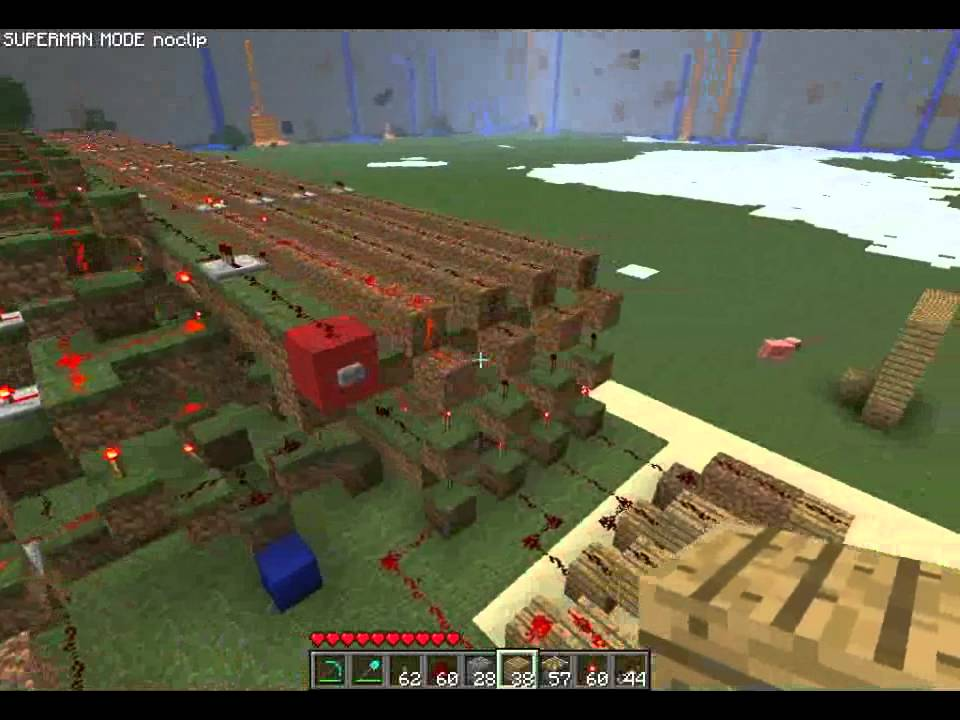 Fully Programmable 3d Printer In Minecraft Youtube