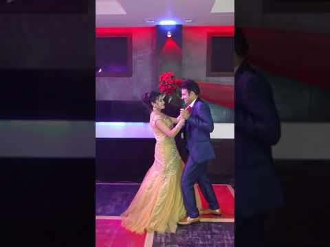 couple engagement dance on tere sang yaara (Ayush & Aaysha)