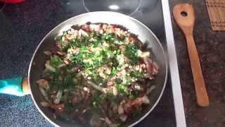 #140 Готовим дома Картошка жареная с мясом