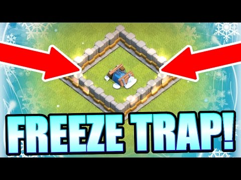 Thumbnail: NEW FREEZE TRAP GAME PLAY IN CLASH OF CLANS!!