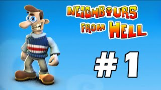 Neighbours From Hell - PC Walkthrough Gameplay Part 1 (în română)