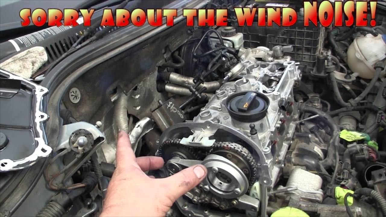 2009 volkswagen cc 2 0 tsi cam chain tensioner failure  top-end diy! part 2-  back on the road! - youtube
