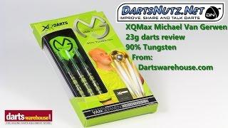 Michael Van Gerwen XQMax 23g darts review