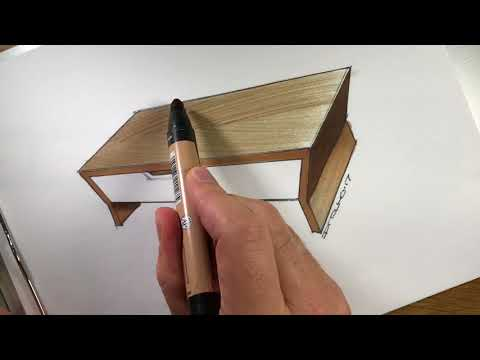Yo! C77 Sketch: How to Simulate Woodgrain in a Sketch