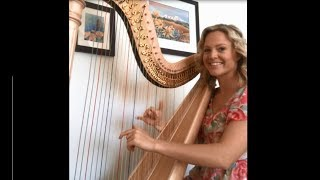 "Kelsey Johnson Harpist -  ""It Is Well With My Soul"""