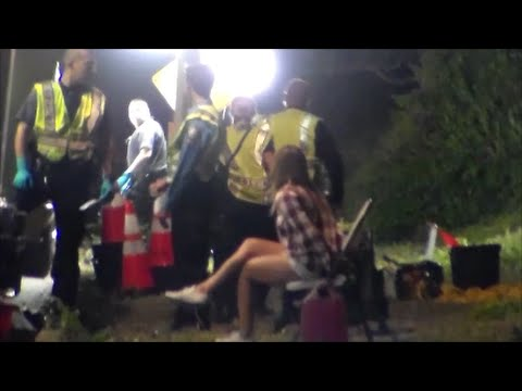 First Amendment Test Laguna Beach DUI Checkpoint Full Video