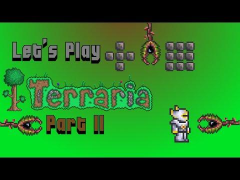Let's Play Terraria Part 11: Silt, Silt and Man Eater Assault