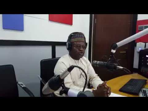 Albarka Radio Boss Introducing the Station in Hausa