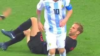 مضاربة منتخب الأرجنتين 🇦🇷ضد كرواتيا 🇭🇷 👊👊👊🏻👊🏻👊🏿👊🏿