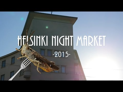Helsinki Night Market 2015 - Street food happening