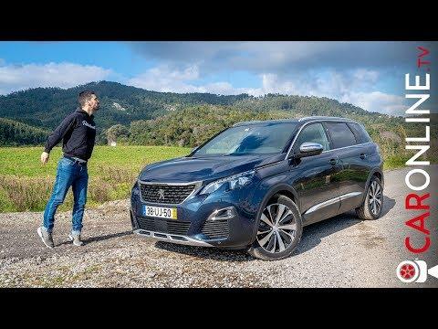Volante PEQUENO num SUV de 7 LUGARES | PEUGEOT 5008 GT [Review Portugal]