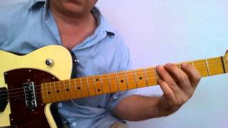 Guitar Lesson - Waitin