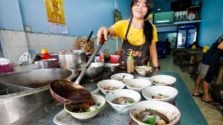 Top 5 Thai STREET FOOD Noodle Dishes to Try in Bangkok, Thailand - with Mike Chen!