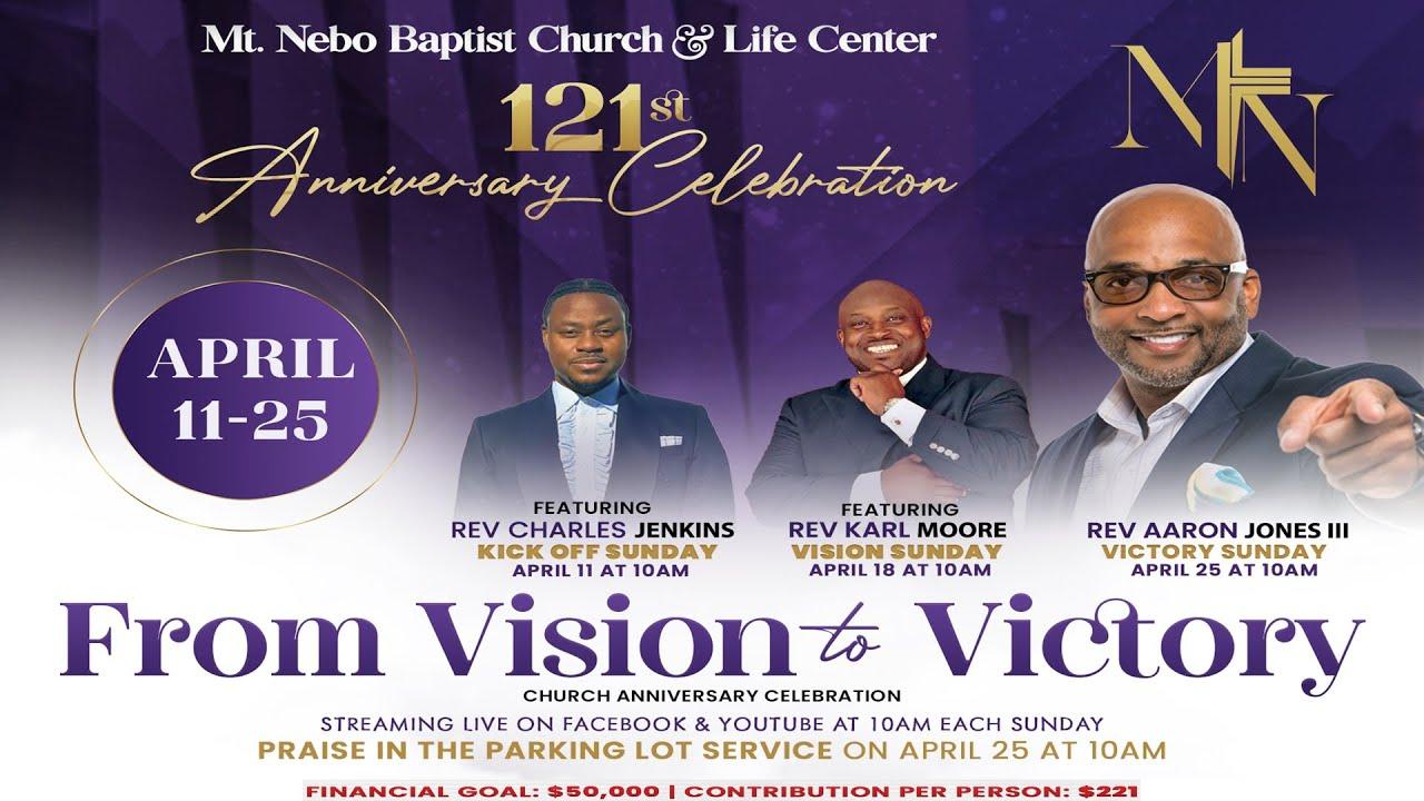Sunday Worship April 18, 2021