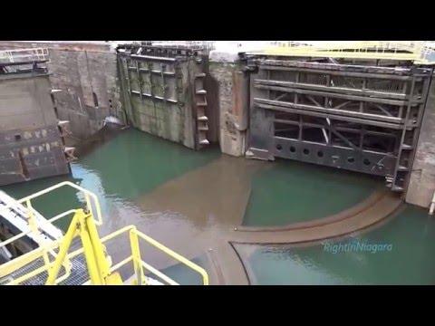 Welland Canal, Lock 4 - Canada HD Travel Channelиз YouTube · Длительность: 1 мин3 с