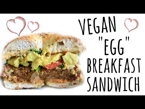 "Vegan ""Egg"" Breakfast Sandwich"