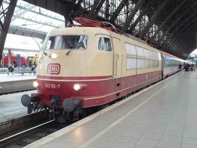DB Class 103113 IC119 Koln Hbf