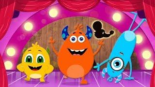 Tippy Tippy Tiptoe | Baby Music & Nursery Rhymes | Momo Beats Cartoons For Kids