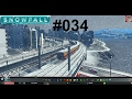SNOWFALL #034 ★ Zu schnelle Züge ★ Let's Play Cities Skylines