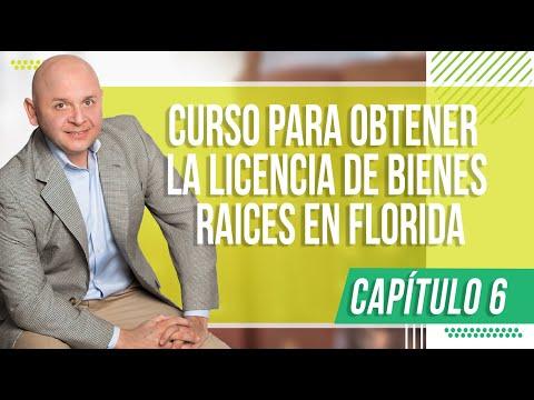 Capítulo 6 Curso para obtener la Licencia de Bienes Raices en FLORIDA FREC I from YouTube · Duration:  43 minutes 33 seconds