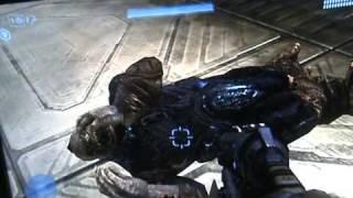 Halo: Pushing the Ragdoll baddies off the cliff