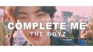 [3d audio] complete me - the boyz (더보이즈)
