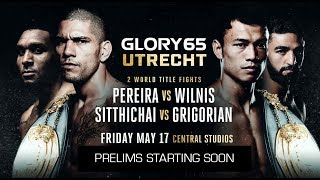 GLORY 65: Official Prelims