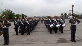 Escuela Militar 2014 Preparatoria Ingreso a Parque O'Higgins