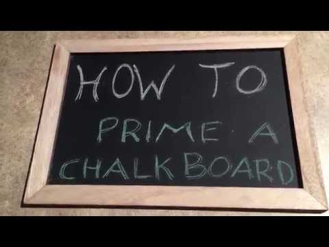 How to Make a Chalkboard, 14 Steps with Pictures - WikiHow