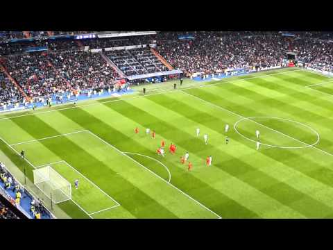 Gareth Bale goal from crowd's point of view