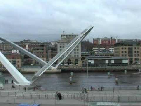 Newcastle's millenium bridge FAST