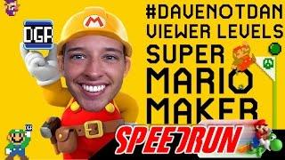 Viewer Mario Maker Levels | Mario 64 70-Star Speedrun Practice After