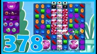 Candy Crush Saga Level 378 screenshot 2