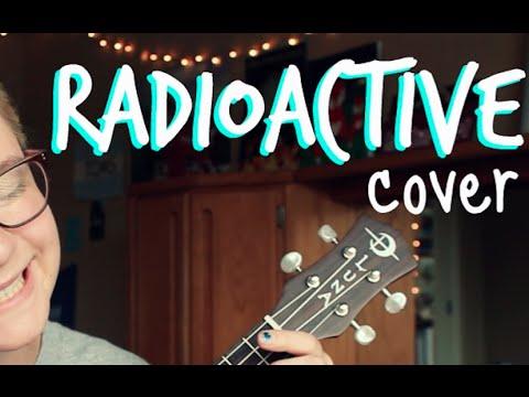 Radioactive Imagine Dragons Ukulele Cover Chords Youtube