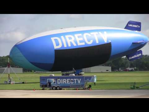 DIRECTV Blimp at the Dupage County Airport