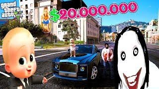 KATİL JEFF'E DÜNYANIN EN PAHALI ARABASINI SATTIM! (JEFF THE KİLLER) - GTA 5