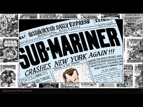 "The Sub-Mariner: ""Crashes New York Again"", The Human Torch Comics #02"