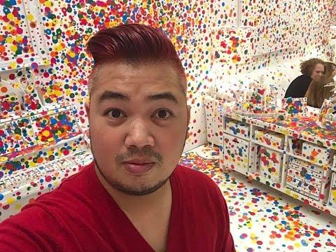 Yayoi Kusama Infinity Mirrors at DC Hirshhorn Museum