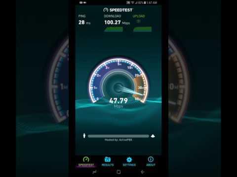 Extreme verizon 4GLTE speed test s8 plus gigabit LTE chip