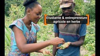 Côte d'Ivoire : Etudiante et entrepreneure agricole en herbe
