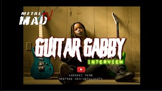 GUITAR GABBY & THE TXLIPS BAND Interview