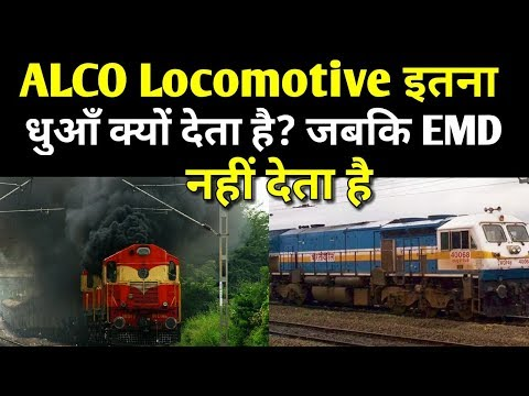 Why did ALCO Locomotive smoke so much?