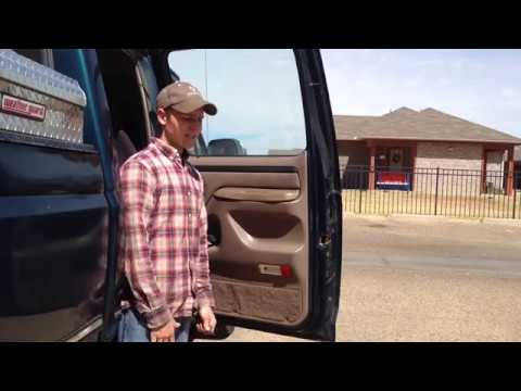 92 97 Ford Truck Rear Door Panel Removal Youtube